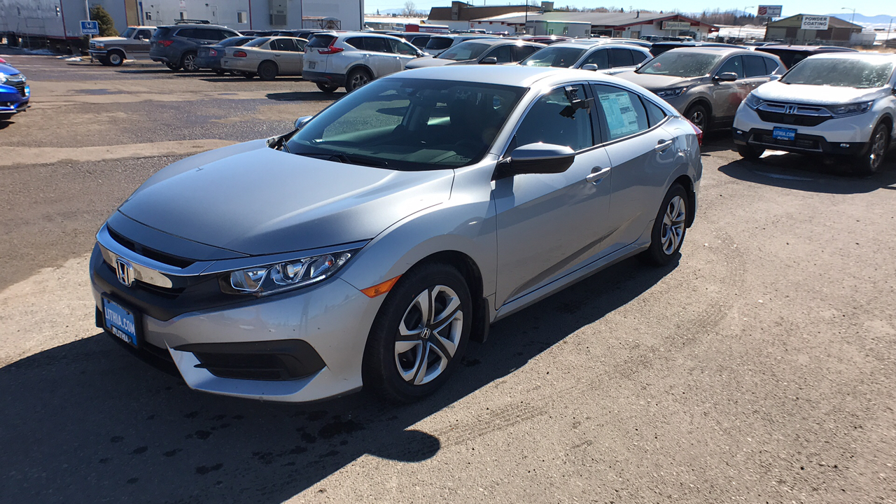 Pre-Owned 2017 Honda CIVIC LX CVT