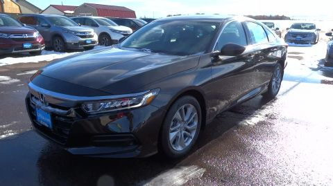 New 2018 Honda ACCORD LX CVT