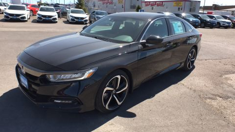 New 2018 Honda ACCORD SPORT CVT